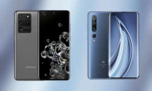 Samsung Galaxy S20 Ultra vs. Xiaomi Mi 10 Pro