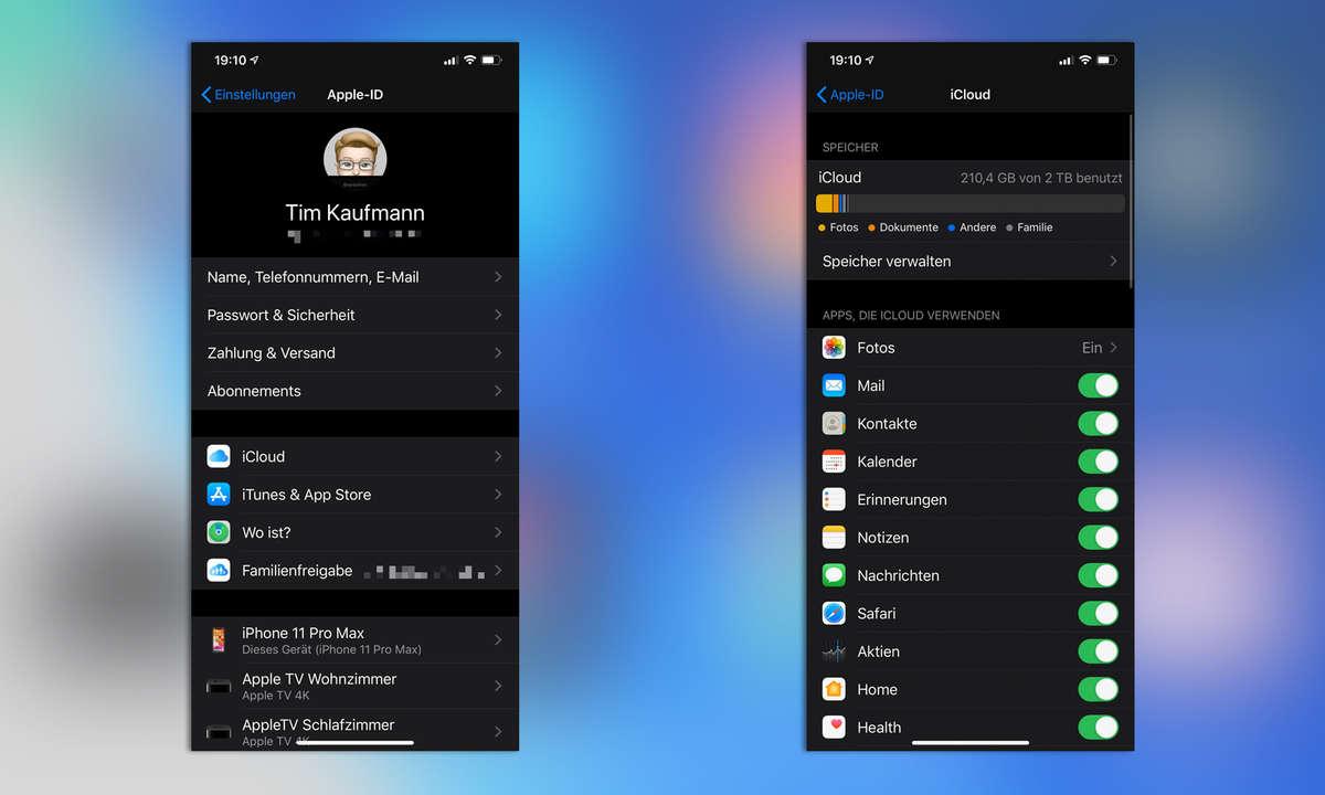 iPhone Backup iCloud