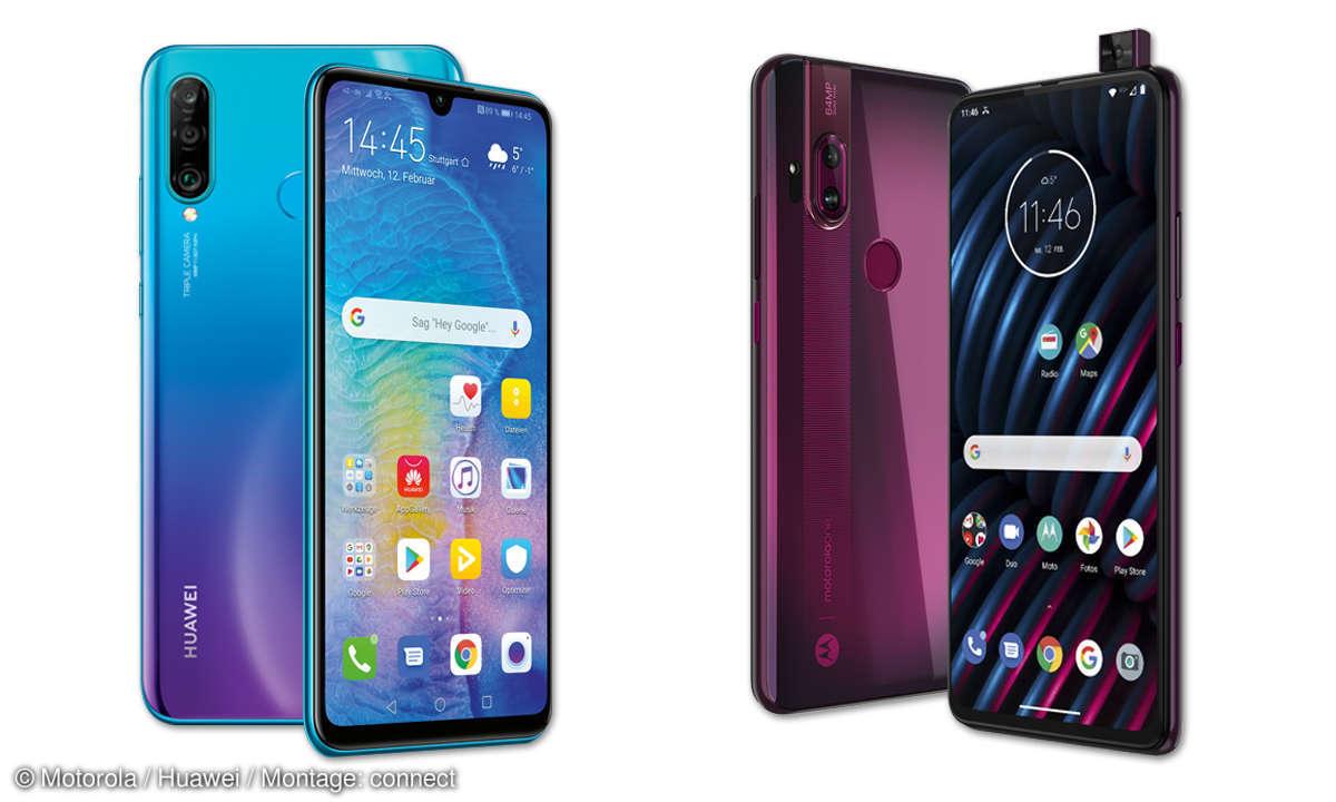 Motorola One Hyper vs. Huawei P30 lite New Edition