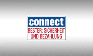 Testsiegel connect Online-Shops Sicherheit und Bezahlung