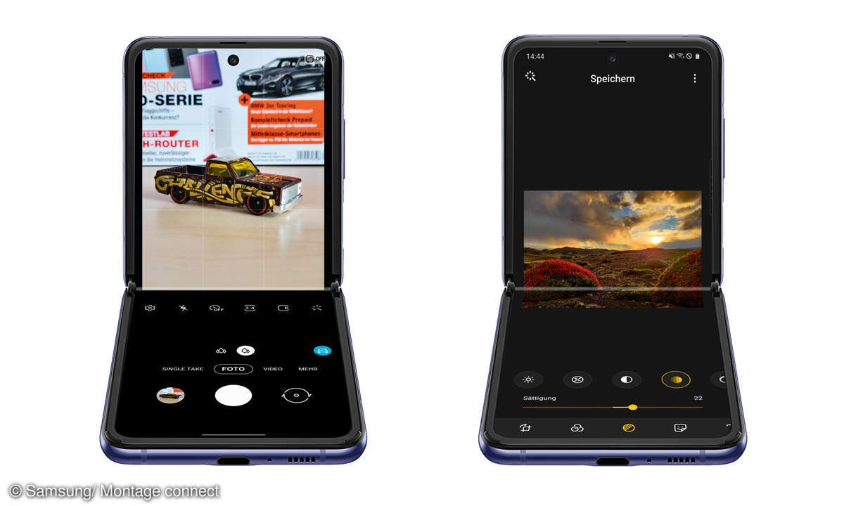 Samsung Galaxy Z Flip Screens