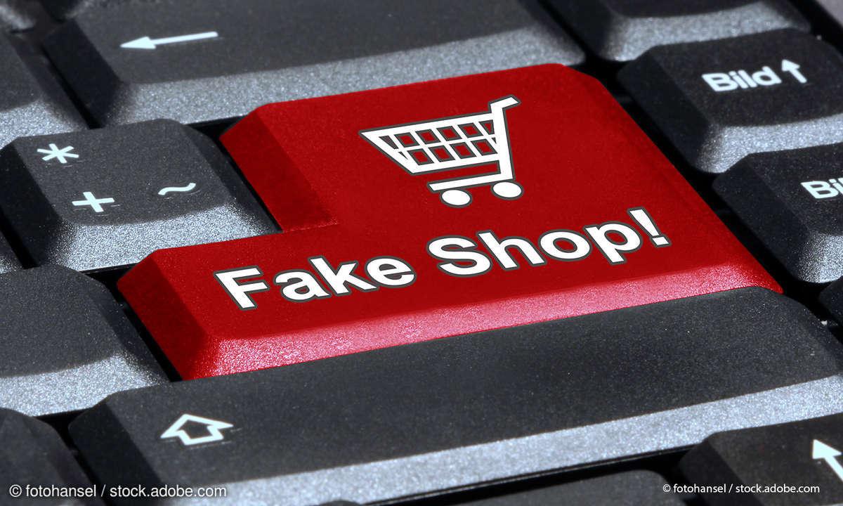 Online-Shopping Warnung vor Fake-Shops