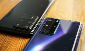 Huawei P40 Pro versus Samsung Galaxy S20 Ultra