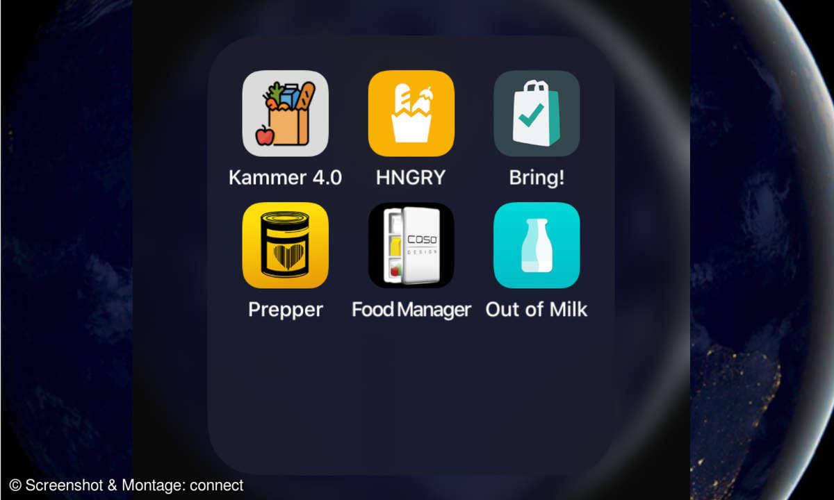 Vorrats- & Einkaufs-Apps