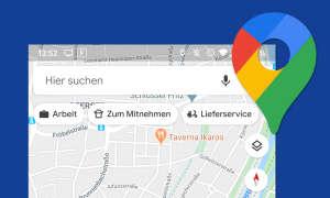 google maps restaurant lieferservice mitnahme suche