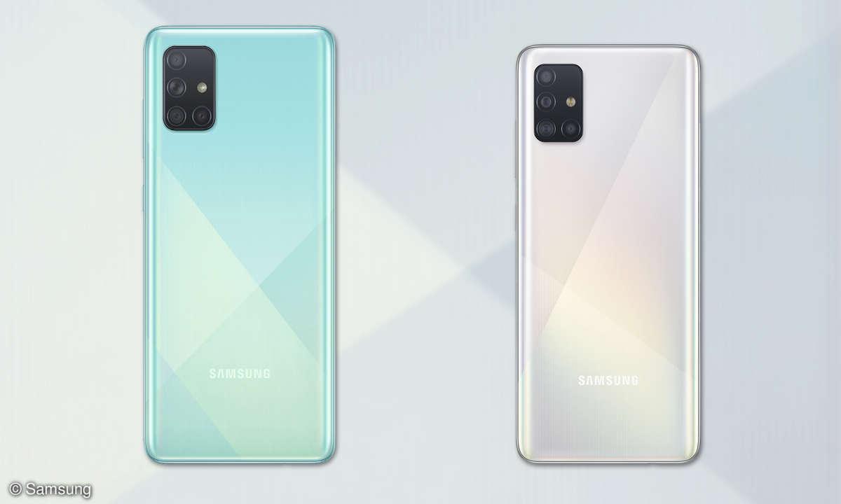 Samsung Galaxy A51 und Galaxy A71