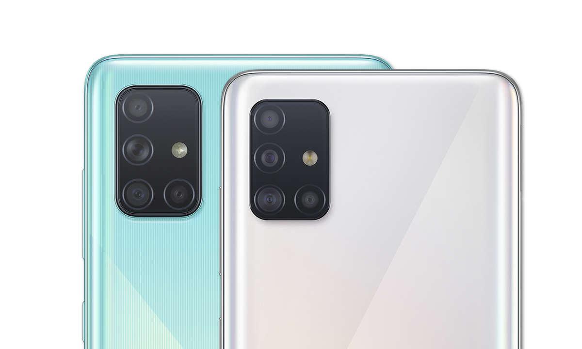Samsung Galaxy A51 und A71 Kamera