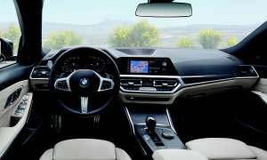 BMW 320D Touring im Test: Infotainment - Cockpit