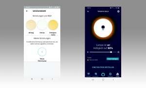Heimvernetzung mit IKEA: Trådfri und Co. - App Screenshots