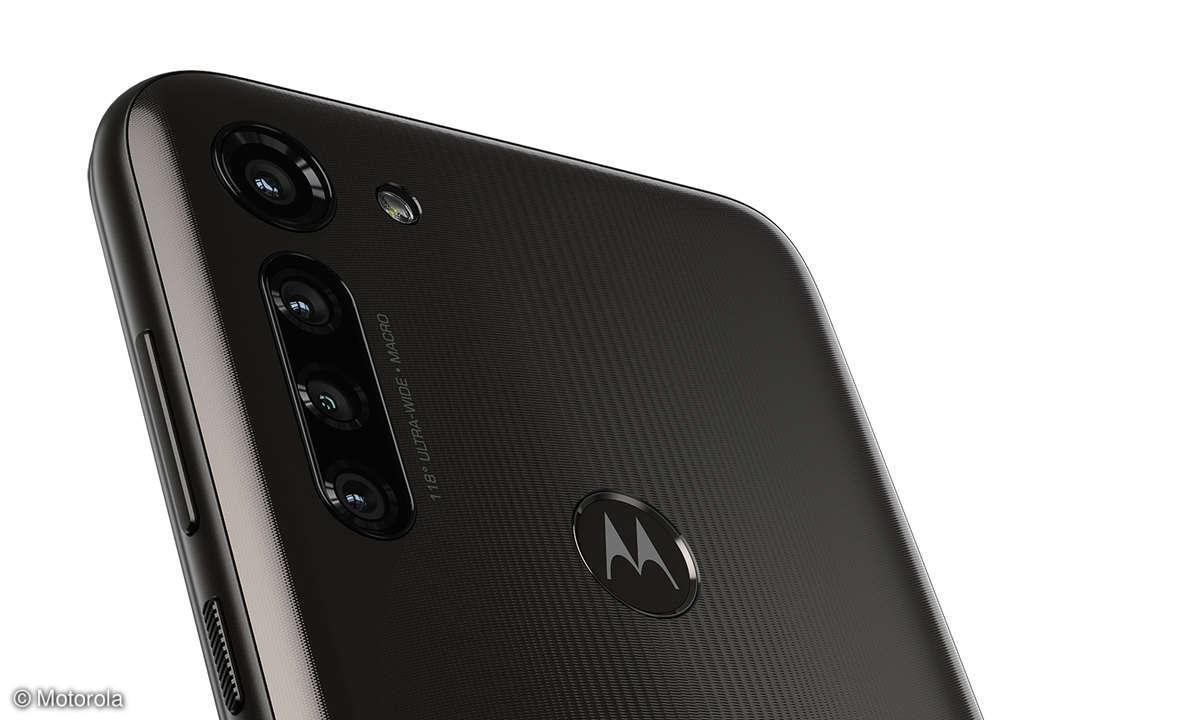 Motorola G8 Power im Test - Rückseite: Kameras