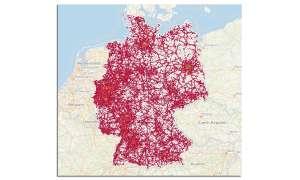 Corona-Analysen: GPS Karte Deutschland