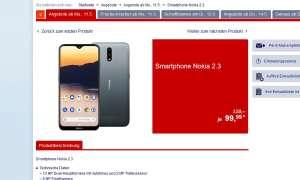 Nokia 2.3 bei Aldi