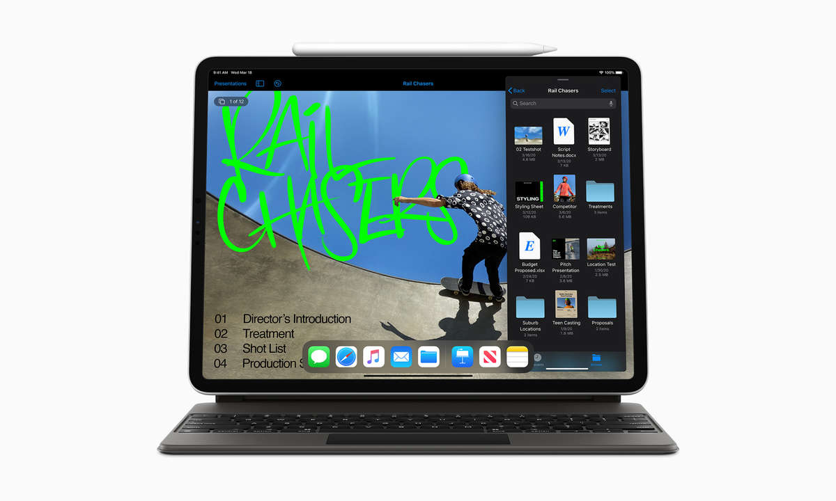 Apple iPad Pro 2020 mit Magic Keyboard