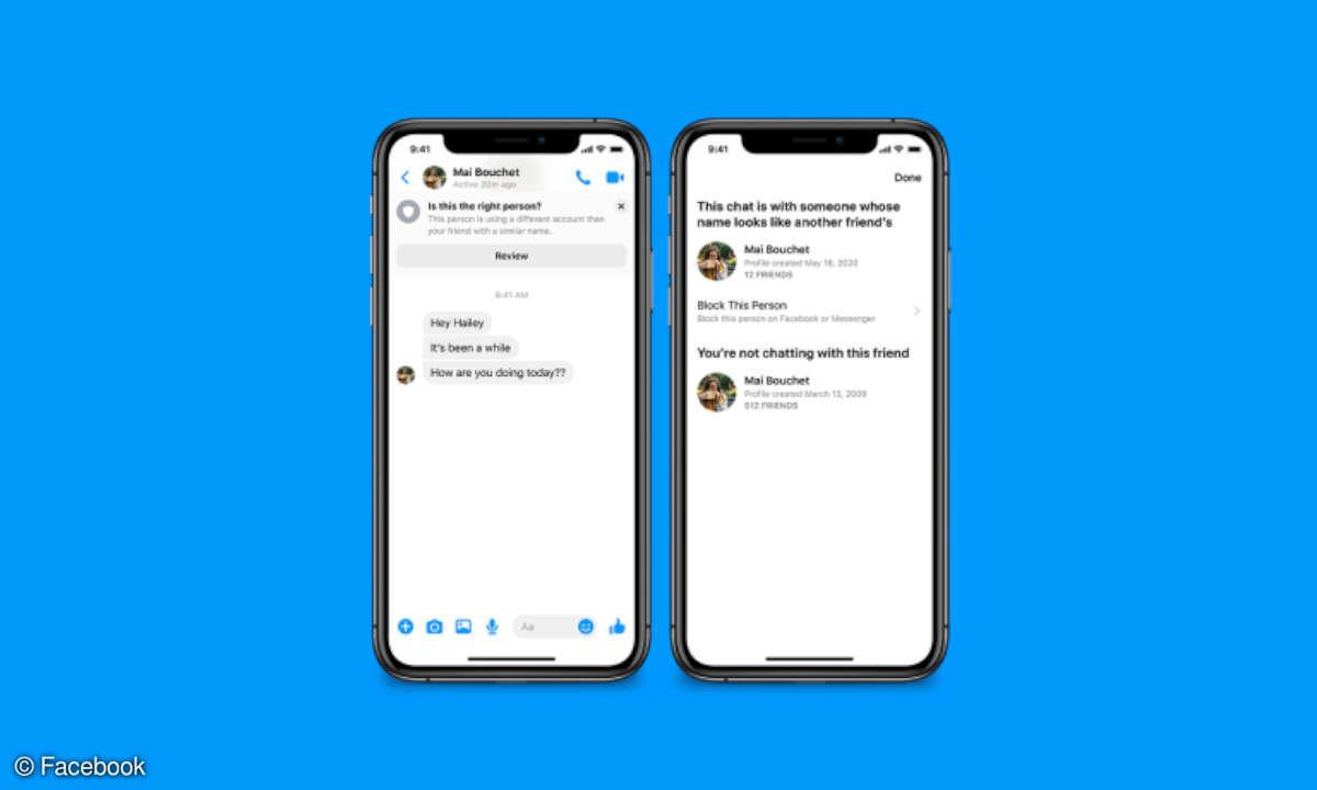 Facebook Messenger Sicherheit Scam