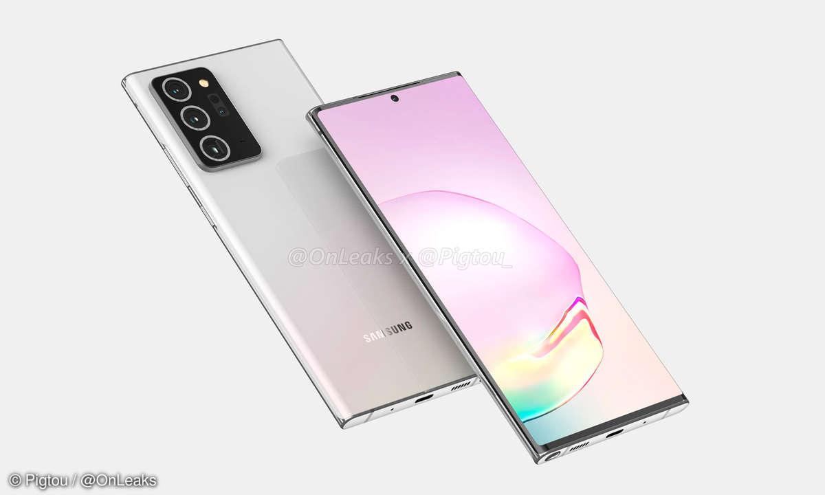 Samsung Galaxy Note 20 Plus von OnLeaks