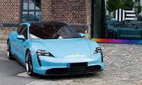 Ladenetztest 2020: Testfahrzeug Porsche Taycan 4S