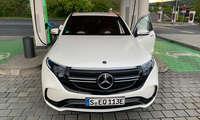 Ladenetztest 2020: Testfahrzeug Mercedes EQC 400
