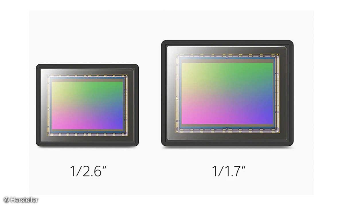 Sony Xperia 1 II Sensor im Vergleich