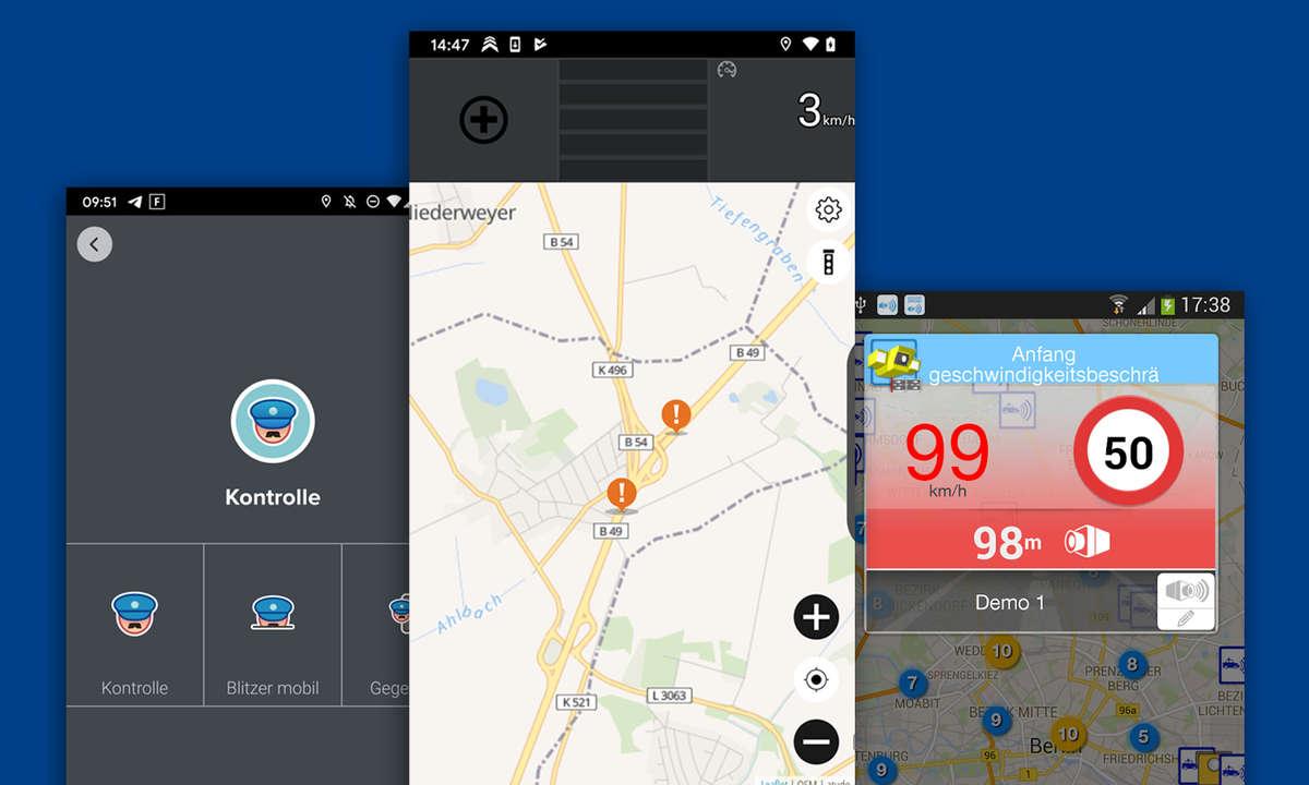 blitzer apps radarwarner android ios