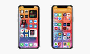 Apple iOS 14 Widgets und App Library