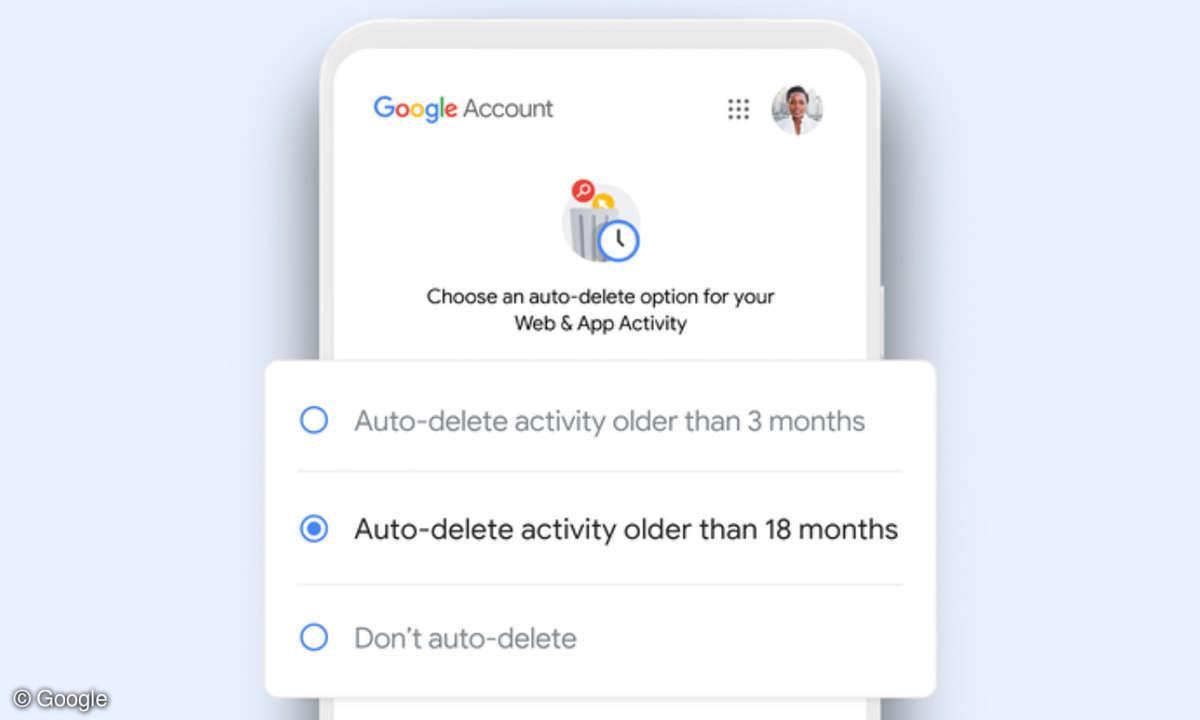 Google Aktivitätsdaten automatisch löschen
