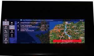 Porsche 911 Carrera S Navigations-Oberfläche
