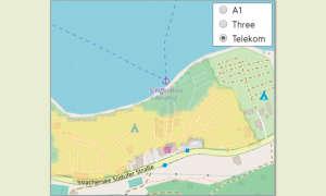 Mobilfunknetztest-Campingplätze: Österreich - Seecamping Berghof