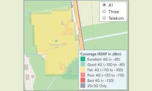 Mobilfunknetztest-Campingplätze: Österreich - Campingplatz Hell