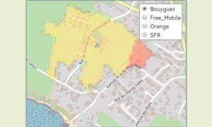 Mobilfunknetztest-Campingplätze: Frankreich - Camping La Boutinardière