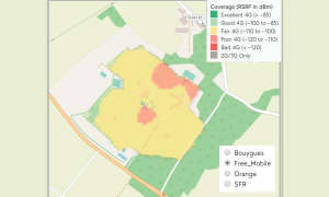 Mobilfunknetztest-Campingplätze: Frankreich - Camping Sandaya Séquoia Parc