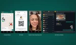 whatsapp update animated stickers qr code