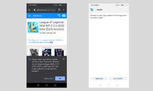 Install Android APK - sample screenshots