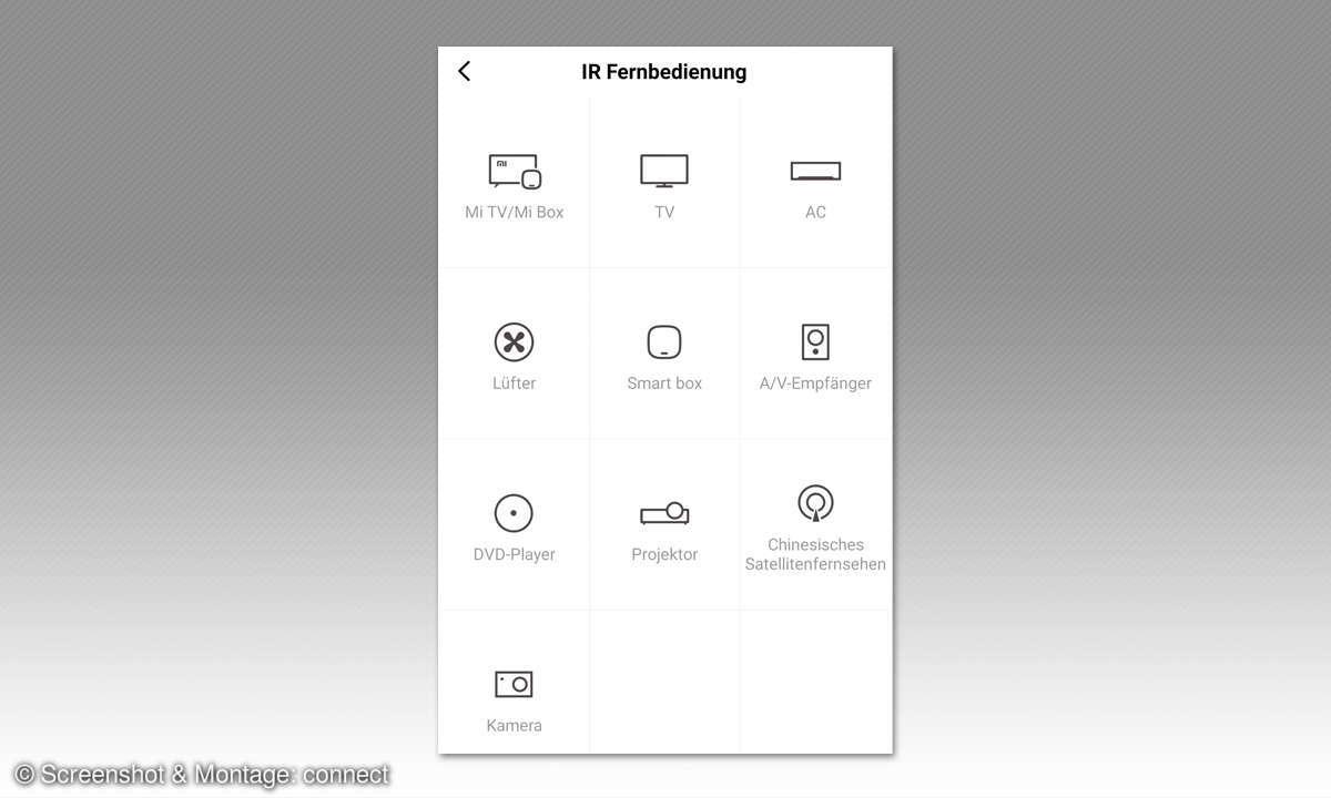 Xiaomi Redmi Note 9 Pro im Test - Fernbedienung Screenshot