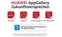 Huawei AppGallery Zukunftsversprechen