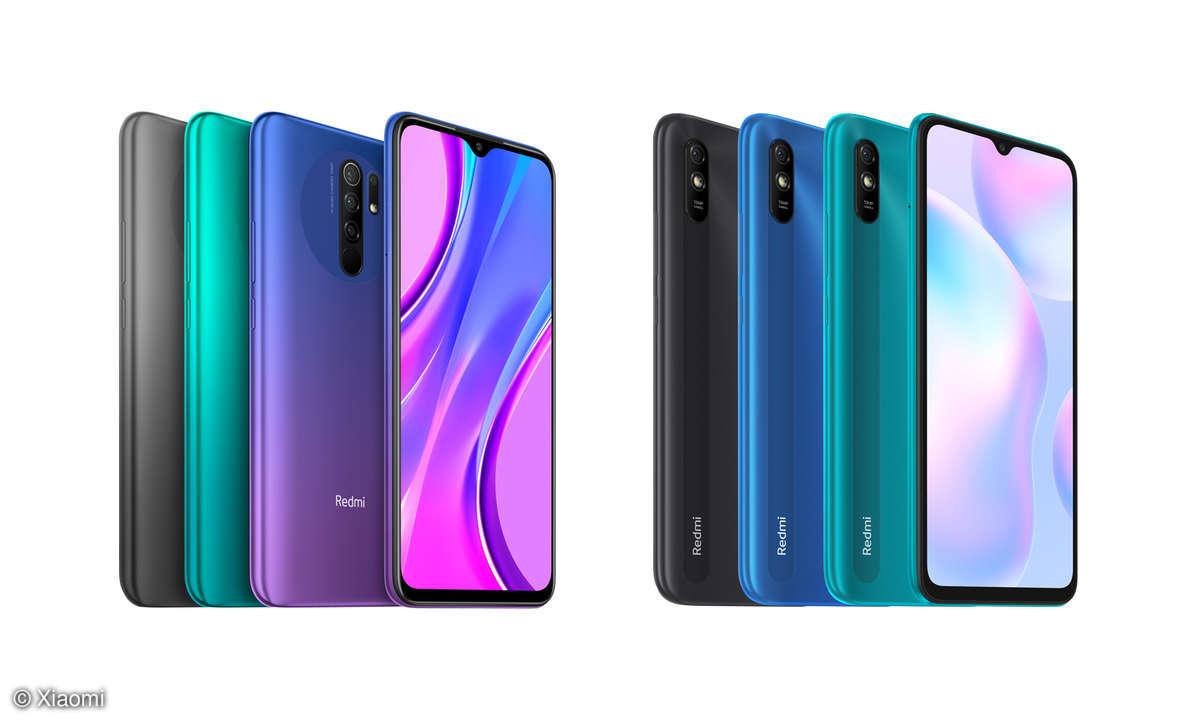 Xiaomi Redmi 9 und Redmi 9A