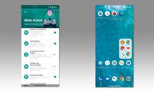 Motorola Edge im Test - Screenshots Apps