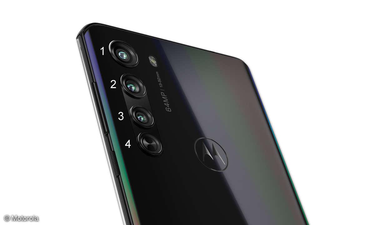 Motorola Edge im Test - Kamera Optiken