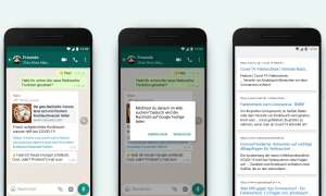 Whatsapp-Update: Websuche