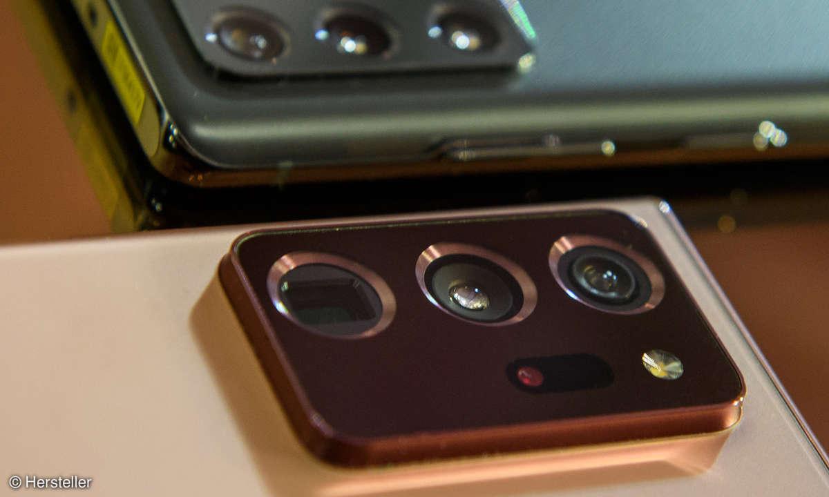 Galaxy Note 20 Ultra: Kamera auf der Rückseite
