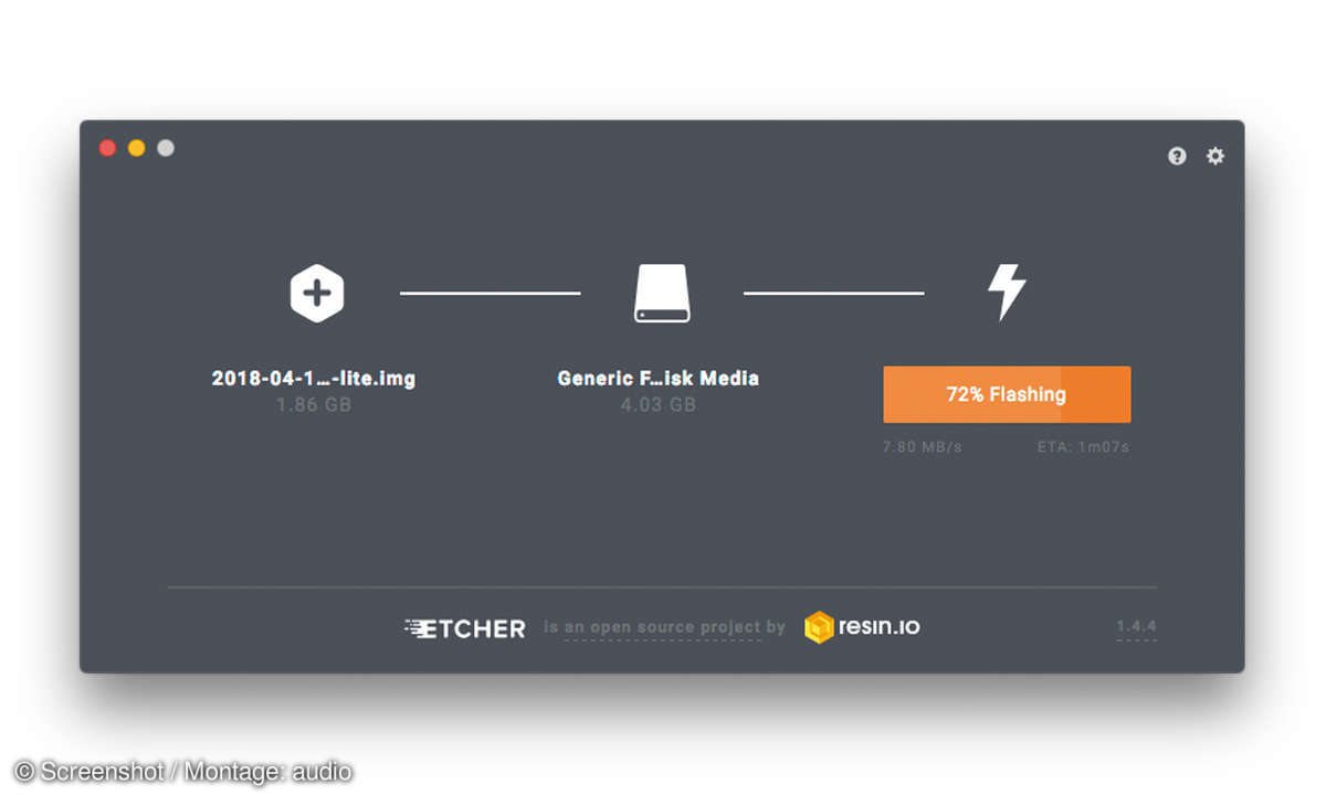 Audio Rip Robot Etcher Screenshot