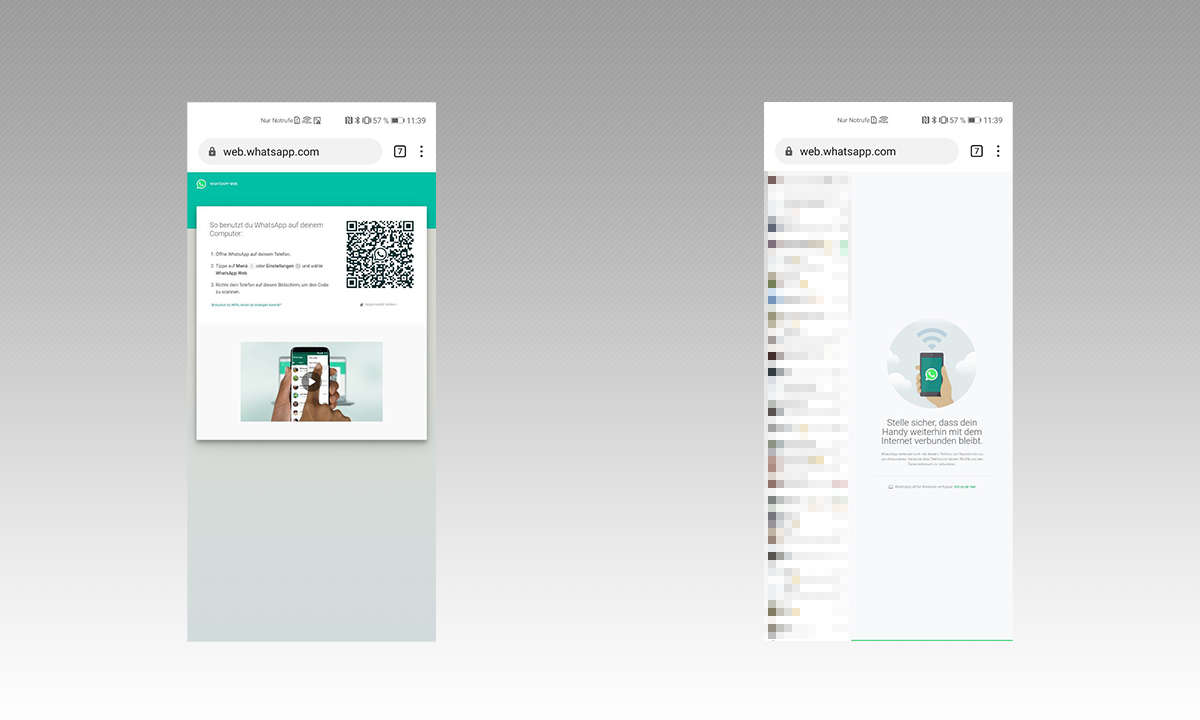 Whatsapp 2 Handys Anleitung