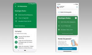 Corona-Warn-App Android und iOS