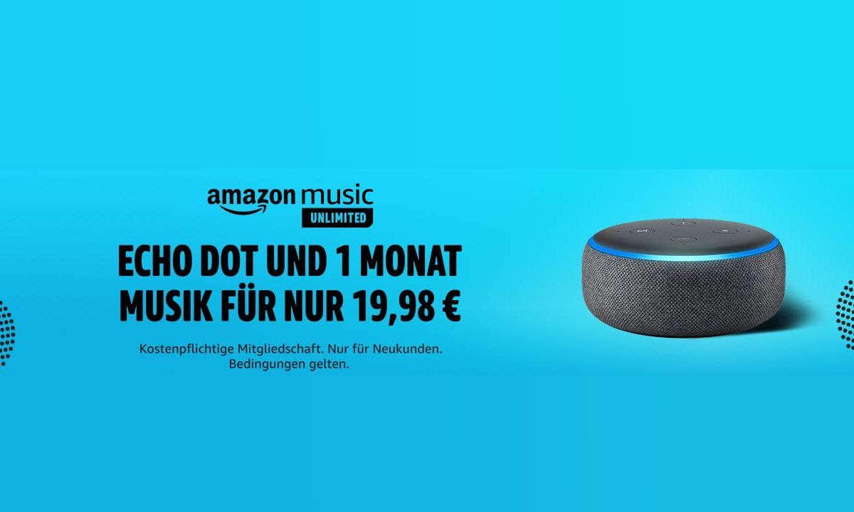 Amazon Music Unlimited mit Echo Dot