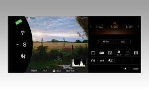 Sony Xperia  II Kamera-App