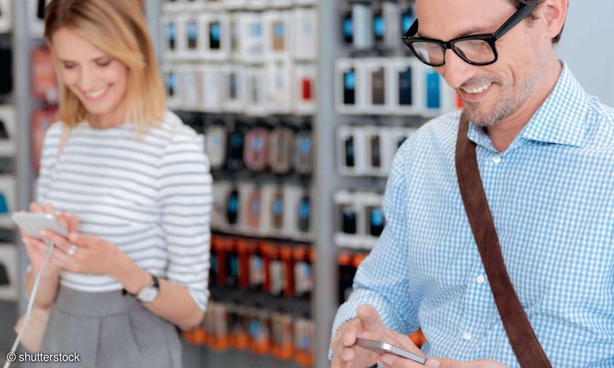 connect Mobilfunk-Shoptest 2020