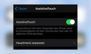 iOS AssistiveTouch