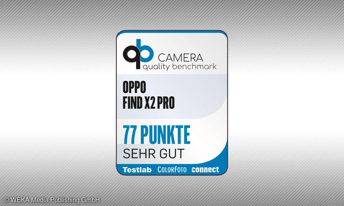 Testsiegel camera quality benchmark Oppo Find X2 Pro