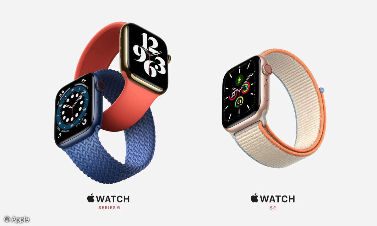 Apple Watch 6 y Apple Watch SE