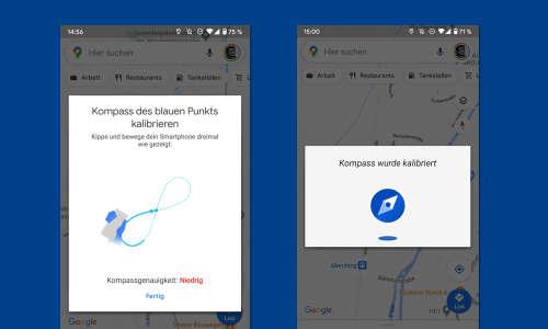 Google Maps Kompass Fehlt