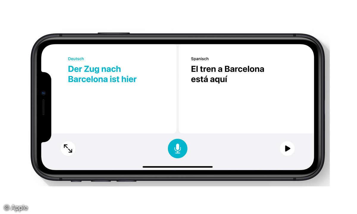 iOS 14 Übersetzung